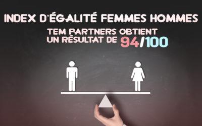 index d'égalité Femmes-Hommes 94/100